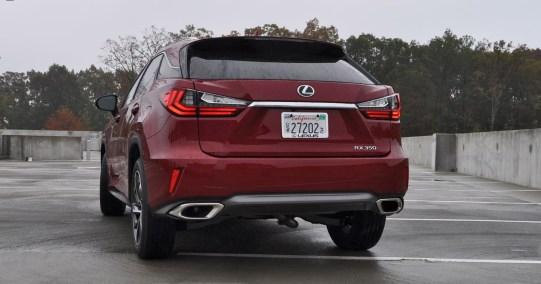 First Drive Review - 2016 Lexus RX350 FWD Luxury Package 3