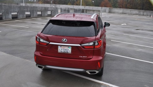 First Drive Review - 2016 Lexus RX350 FWD Luxury Package 31