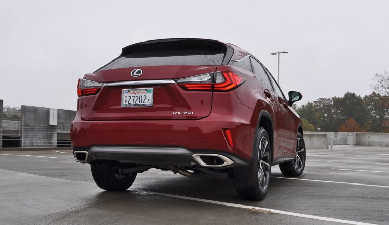 First Drive Review - 2016 Lexus RX350 FWD Luxury Package 34