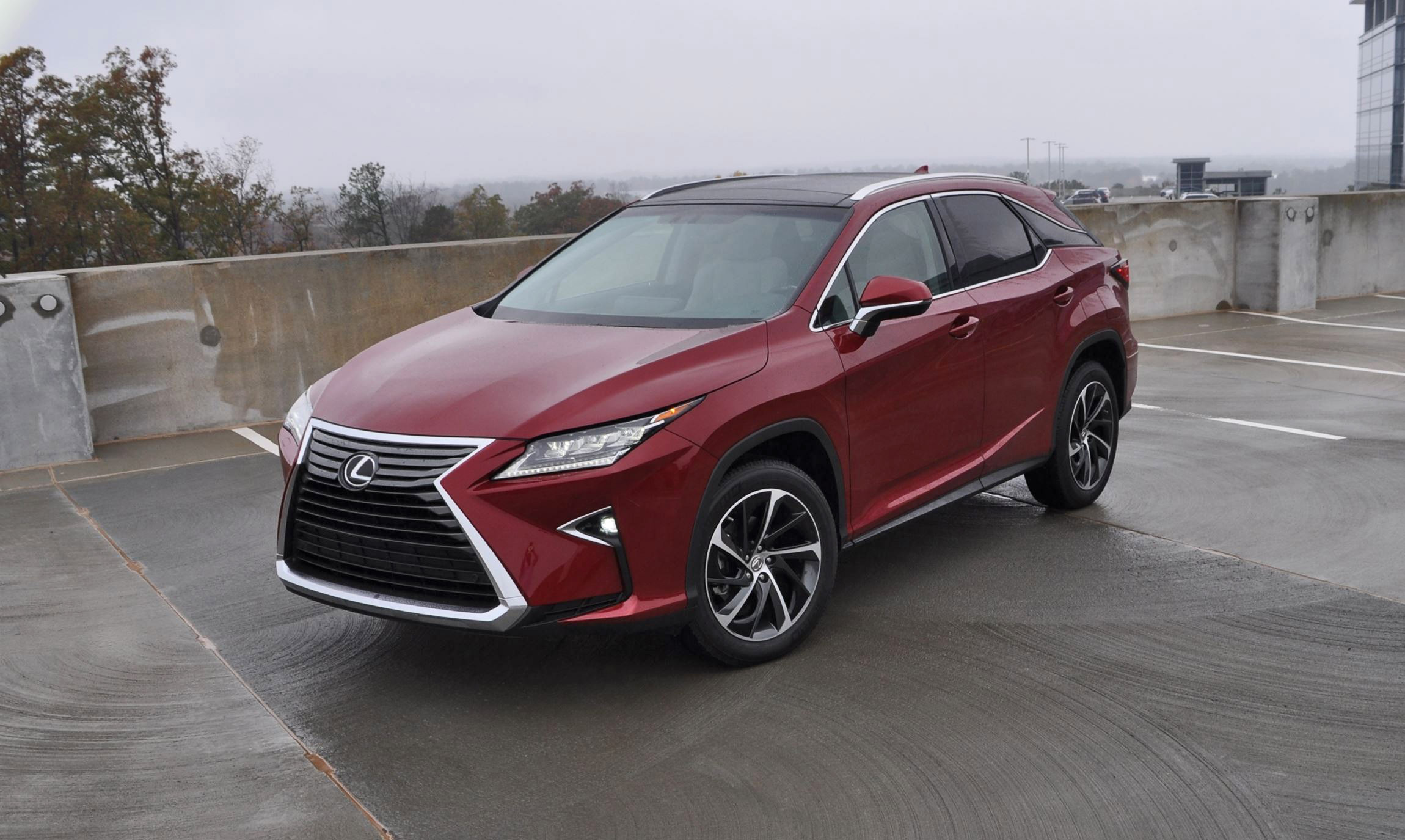 First Drive Review 2016 Lexus RX350 FWD Luxury Package 42