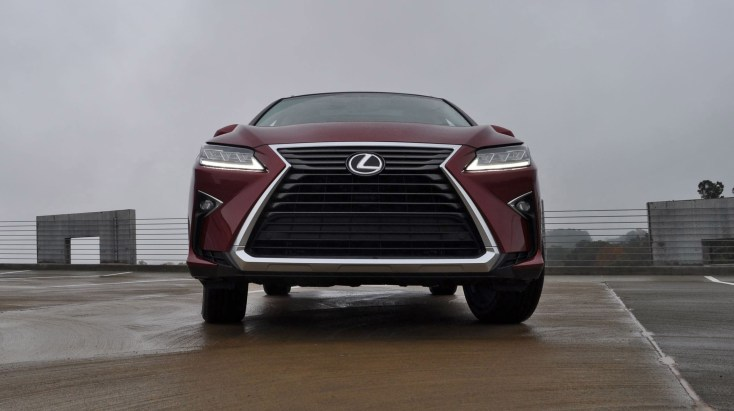 First Drive Review - 2016 Lexus RX350 FWD Luxury Package 46