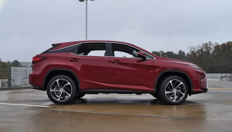 First Drive Review - 2016 Lexus RX350 FWD Luxury Package 60