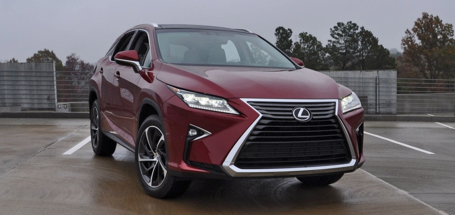 First Drive Review - 2016 Lexus RX350 FWD Luxury Package 80