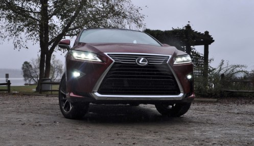 First Drive Review - 2016 Lexus RX350 FWD Luxury Package 90