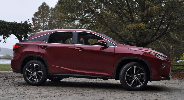 First Drive Review - 2016 Lexus RX350 FWD Luxury Package 96