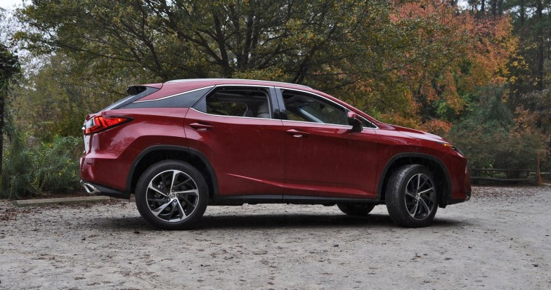 First Drive Review - 2016 Lexus RX350 FWD Luxury Package 97