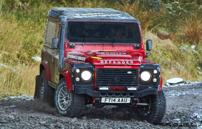Land Rover DEFENDER CHALLENGE by Bowler Motorsport - Borders Rally Season Finale 1223