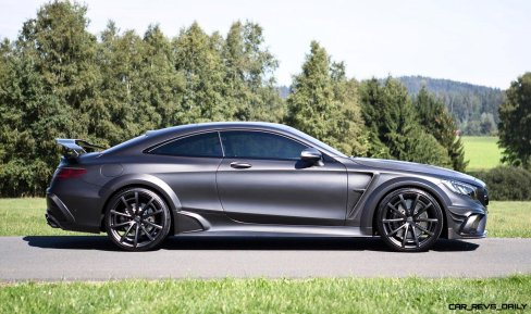 MANSORY S63 Black Edition Coupe 13