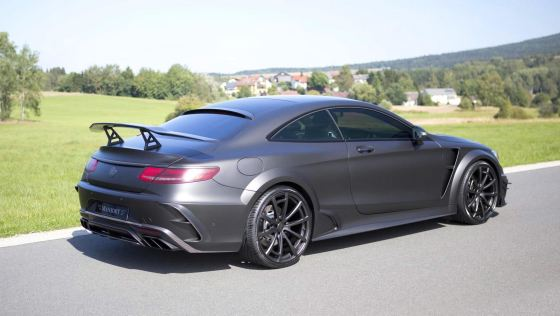 MANSORY S63 Black Edition Coupe 15
