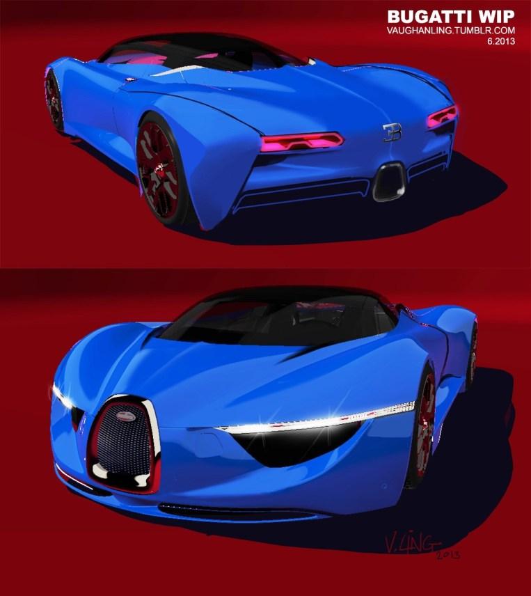 VAUGHAN LING - Bugatti Renderings 11