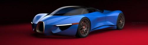 VAUGHAN LING - Bugatti Renderings 3
