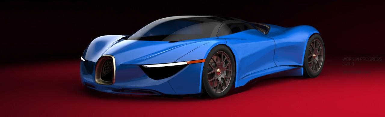 VAUGHAN LING - Bugatti Renderings 7