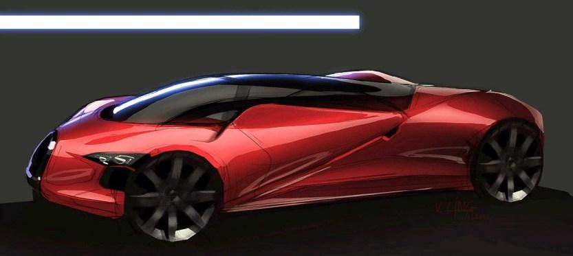 VAUGHAN LING - Bugatti Renderings 8