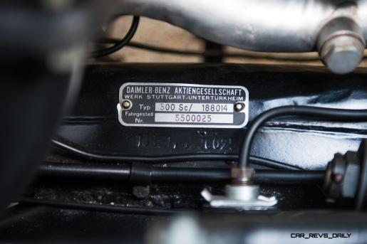1955 Mercedes-Benz 300 Sc Coupe 28