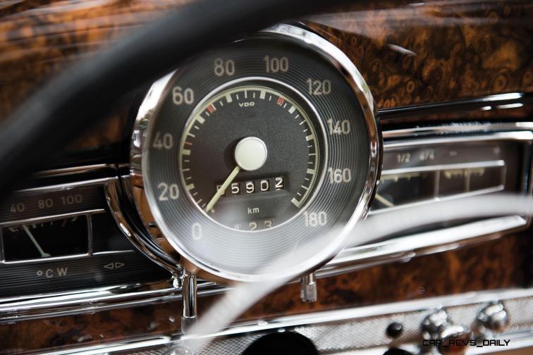 1956 Mercedes-Benz 300 Sc Roadster 23