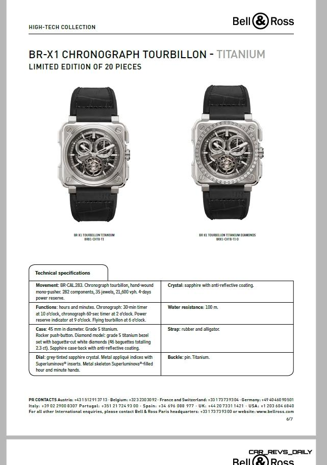 Bell & Ross BR-X1 Presspack Pages 6