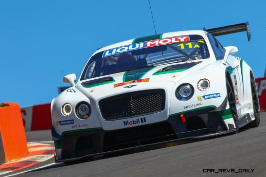 Bentley finishes fourth at Bathurst in tense finish(1)