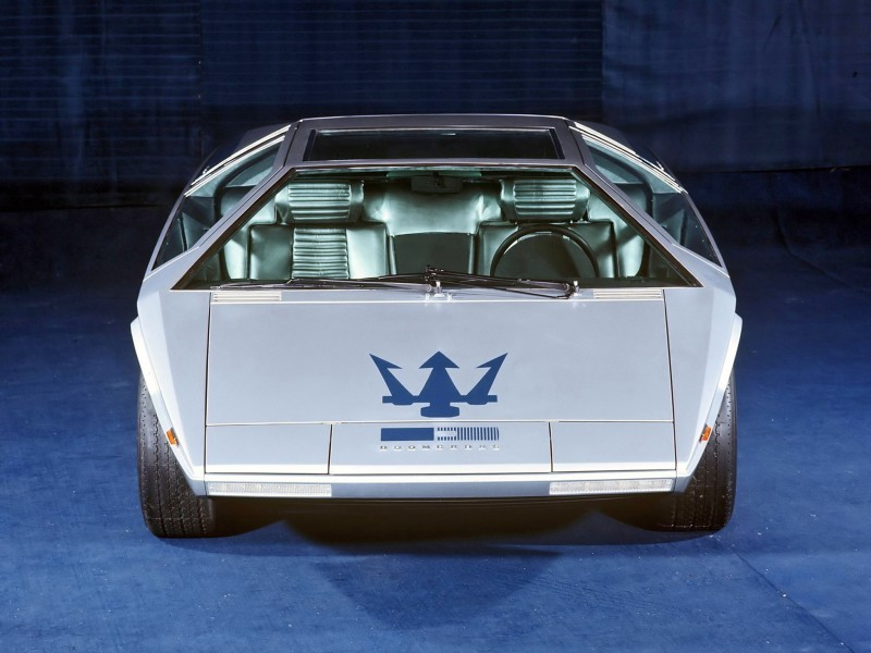 Concept Debrief - 1972 Maserati Boomerang by GIUGIARO 3