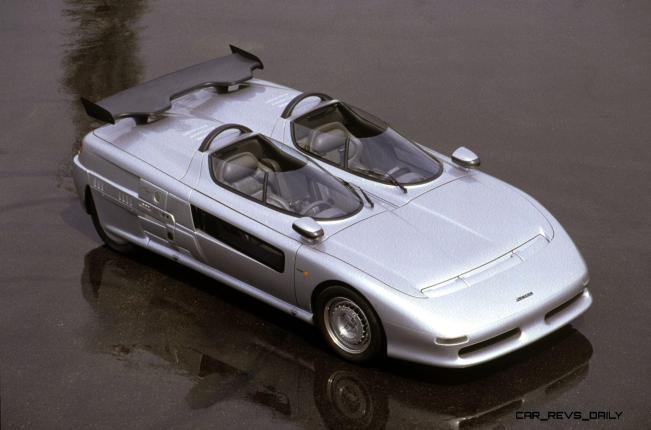 Concept Flashback - 1988 ITALDESIGN Aztec 21