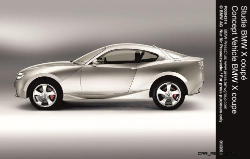 Concept Flashback - 2001 BMW X Coupe 12