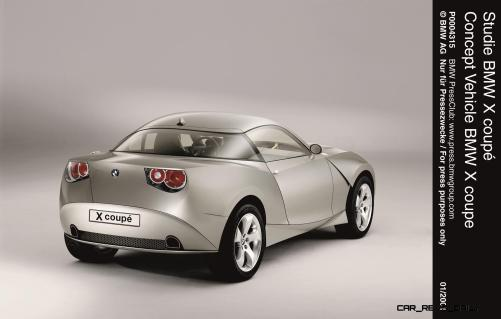 Concept Flashback - 2001 BMW X Coupe 13