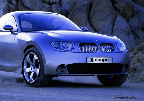 Concept Flashback - 2001 BMW X Coupe 3