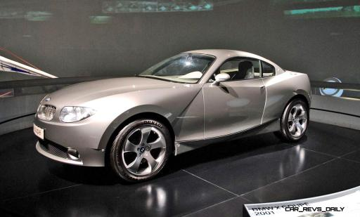 Concept Flashback - 2001 BMW X Coupe 5