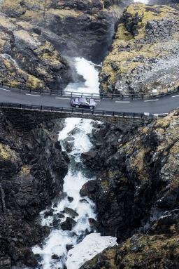 Bentley Continental GT launch, Norway, June 2015 Trollstigen Road, Norway Photo: James Lipman / jameslipman.com