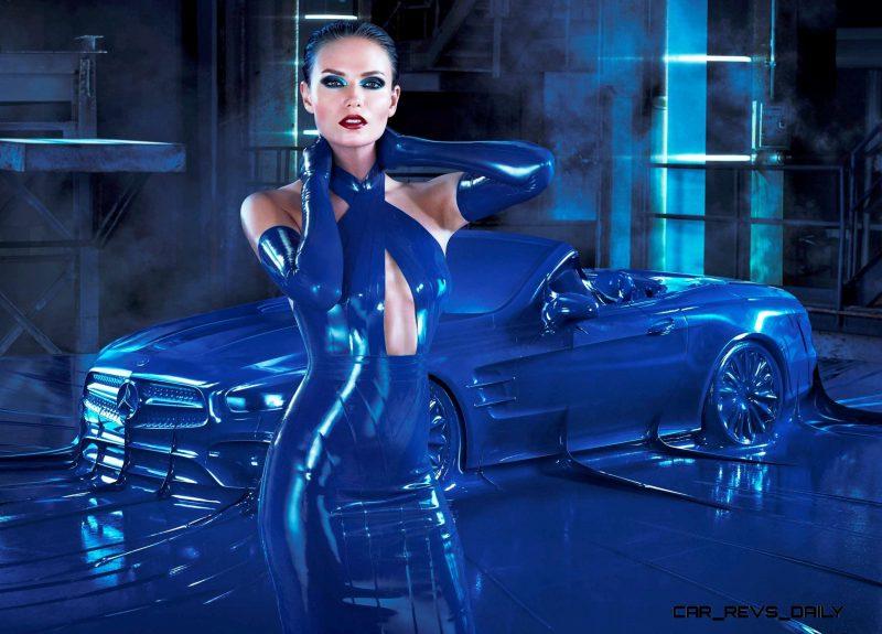 Mercedes Latex Fashion Shoot 11