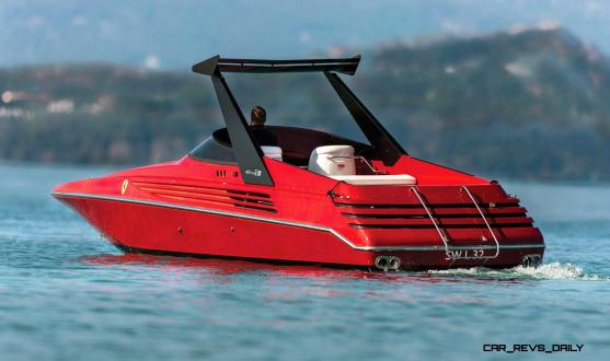 RM Sotheby's 1990 RIVA Ferrari 32 Speedboat 2