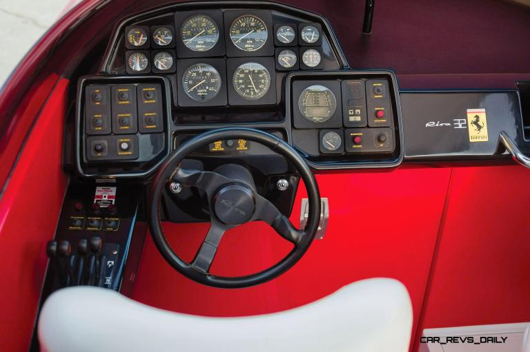 RM Sotheby's 1990 RIVA Ferrari 32 Speedboat 4