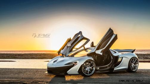 TAG Motorsports 2015 McLaren P1 HRE P101 Alloys 11