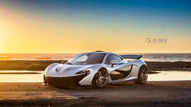 TAG Motorsports 2015 McLaren P1 HRE P101 Alloys 13