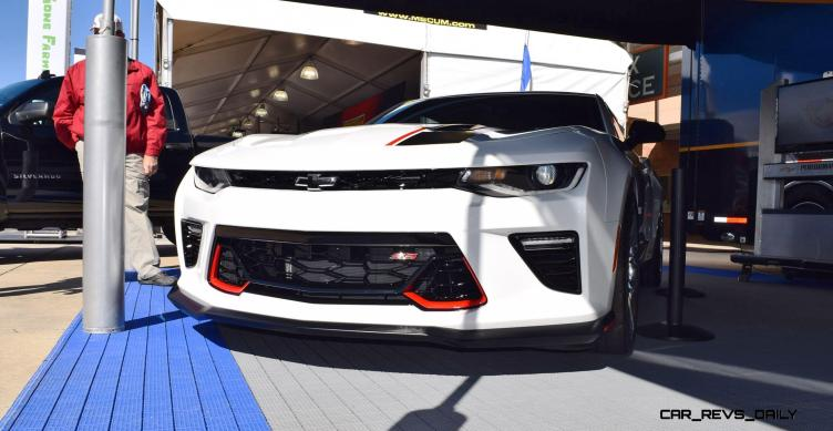 2016 Camaro SS with Chevrolet Performance Parts 11