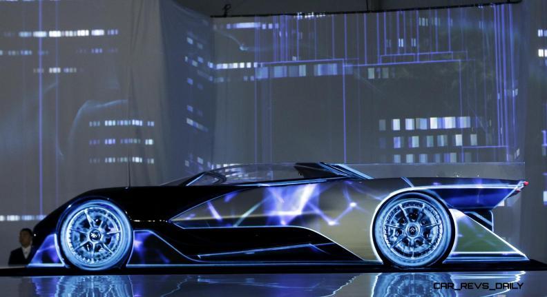 Gadget Show Faraday Future