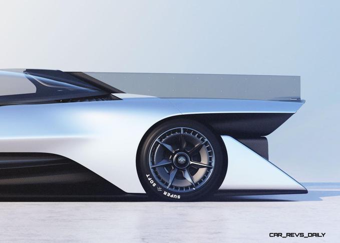 2016 Faraday Future FFZERO1 Concept 41