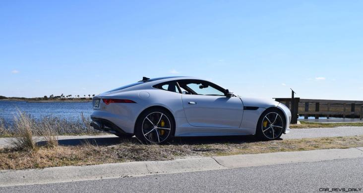 2016 JAGUAR F-Type R AWD White with Black Pack 107