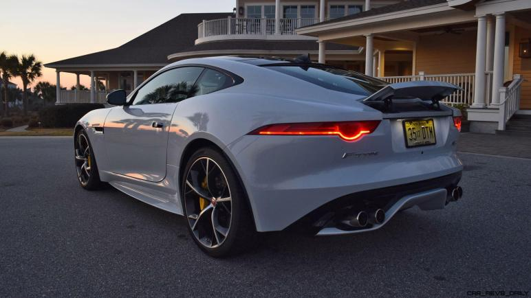 2016 JAGUAR F-Type R AWD White with Black Pack 15