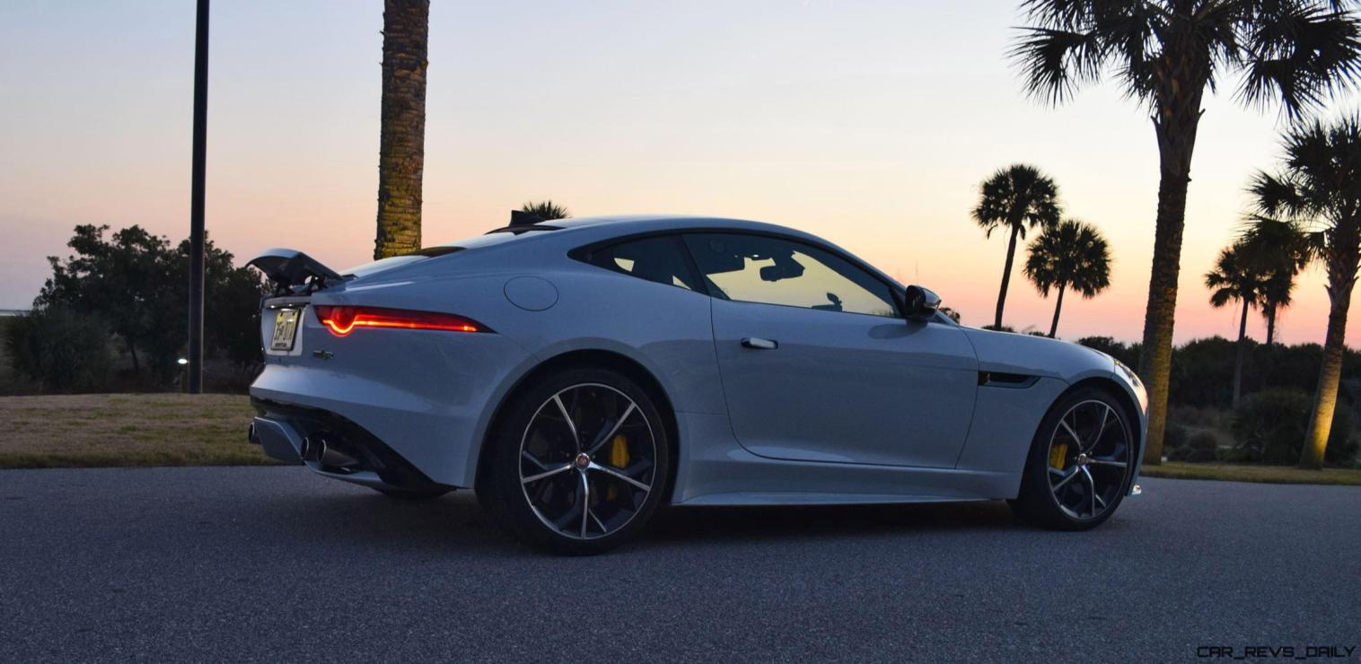 2016 JAGUAR F-Type R AWD White with Black Pack 20
