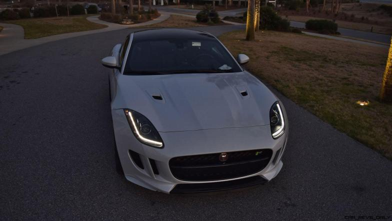 2016 JAGUAR F-Type R AWD White with Black Pack 36