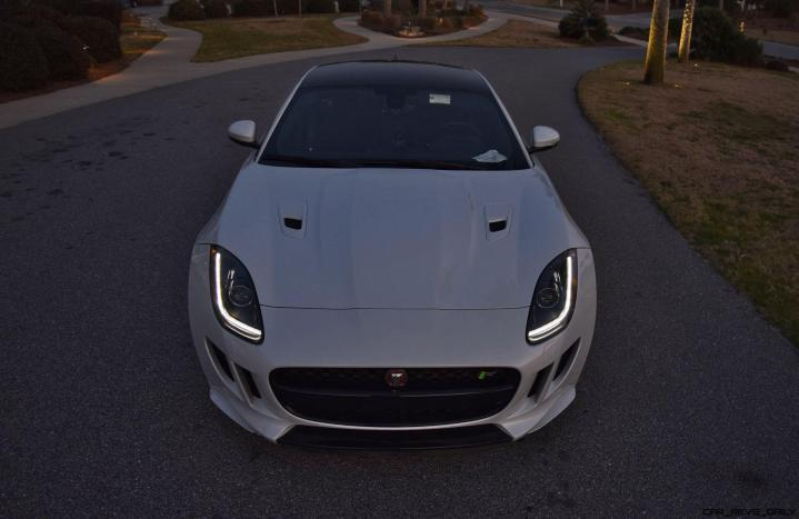 2016 JAGUAR F-Type R AWD White with Black Pack 37