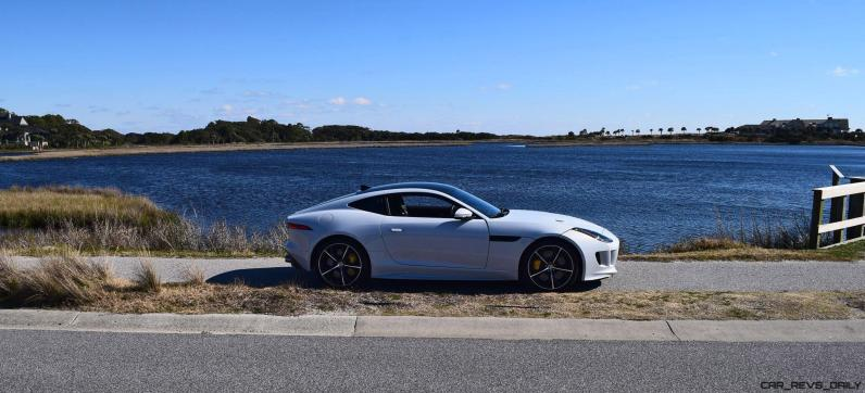 2016 JAGUAR F-Type R AWD White with Black Pack 46