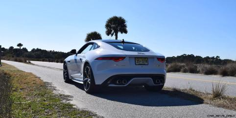 2016 JAGUAR F-Type R AWD White with Black Pack 52