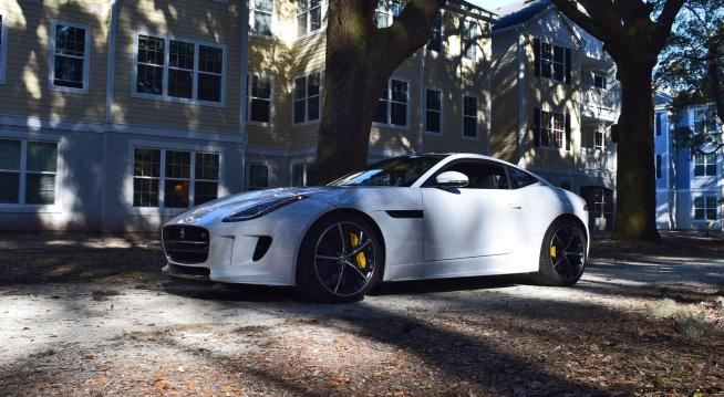 2016 JAGUAR F-Type R AWD White with Black Pack 83
