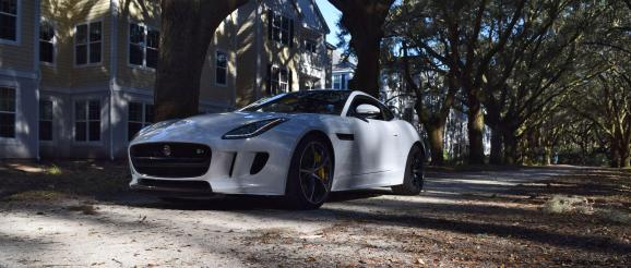2016 JAGUAR F-Type R AWD White with Black Pack 86