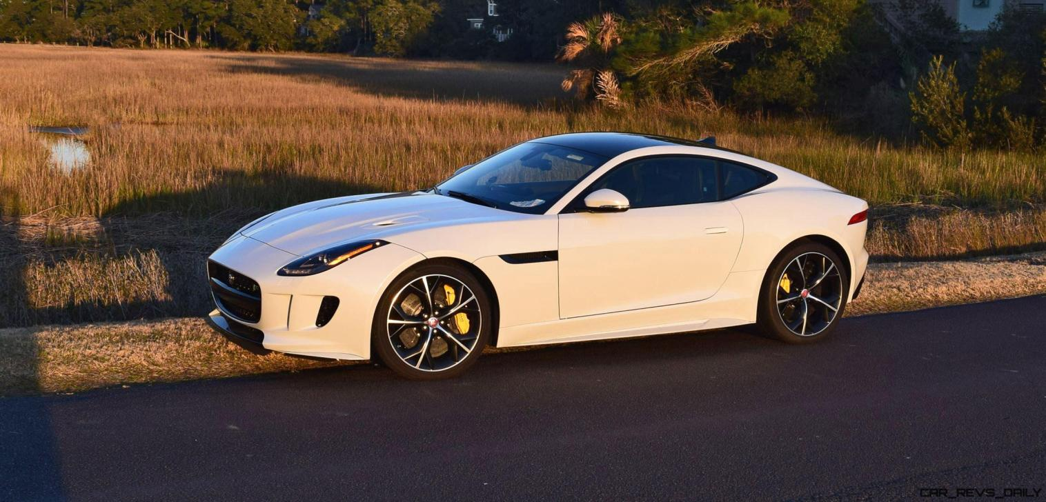 2016 JAGUAR F-Type R AWD White with Black Pack 9