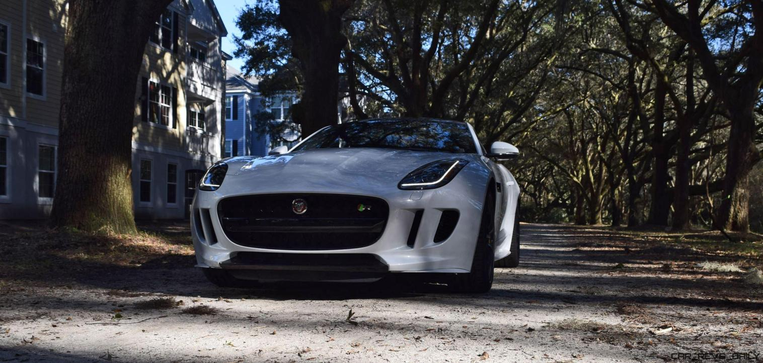 2016 JAGUAR F-Type R AWD White with Black Pack 90