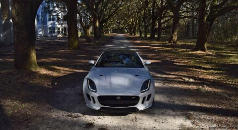 2016 JAGUAR F-Type R AWD White with Black Pack 95
