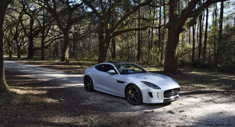 2016 JAGUAR F-Type R AWD White with Black Pack 96