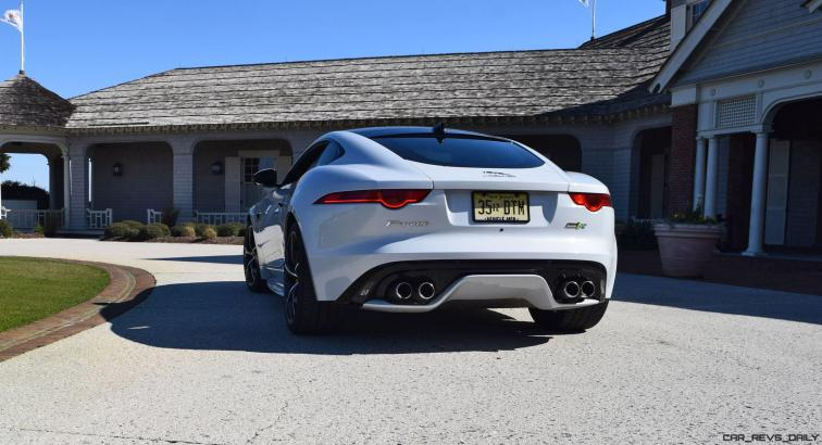2016 JAGUAR F-Type R AWD White with Black Pack 98